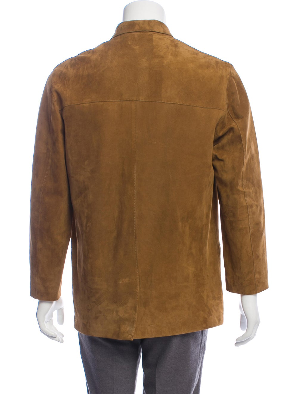 Bijan Suede Shirt Jacket - image 3