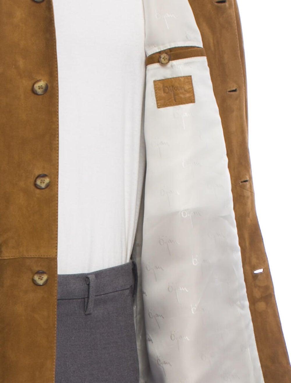 Bijan Suede Shirt Jacket - image 4