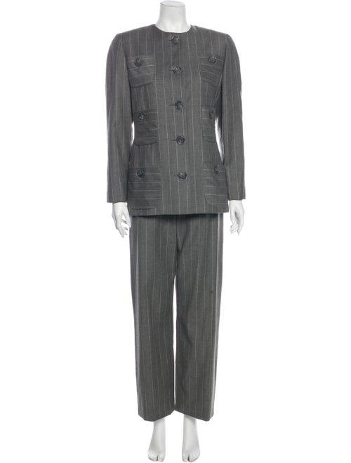 Bill Blass Pantsuit Grey