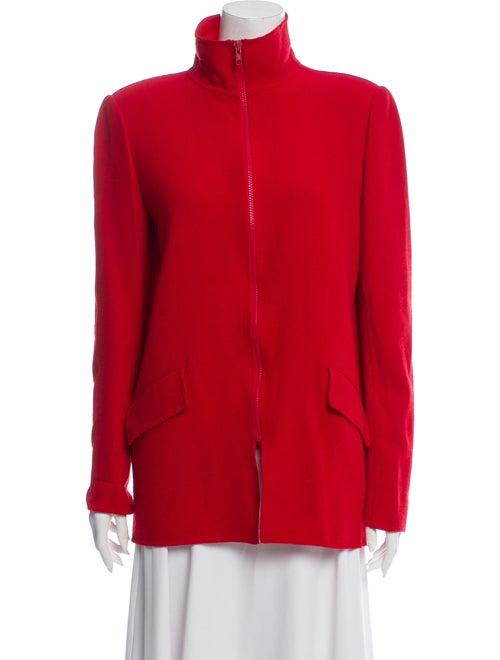 Bill Blass Vintage Evening Jacket Red