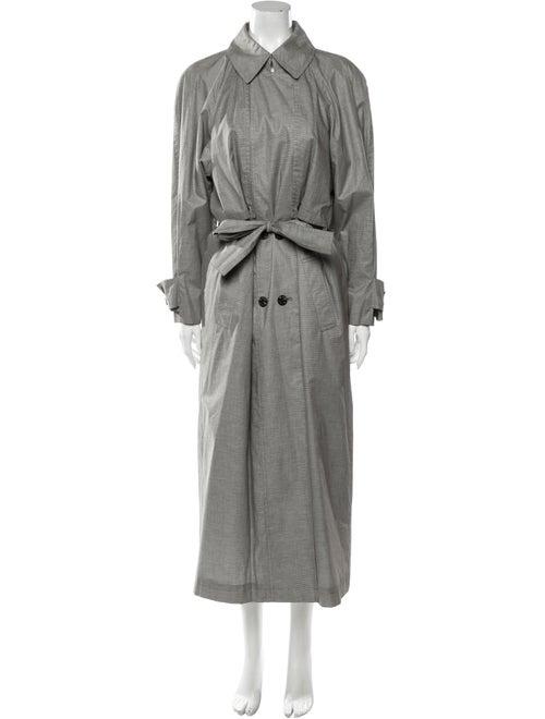 Bill Blass Trench Coat Grey