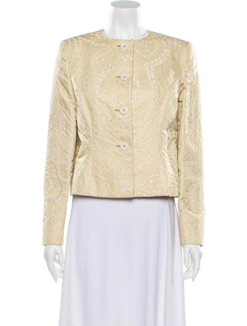 Bill Blass Tweed Pattern Evening Jacket