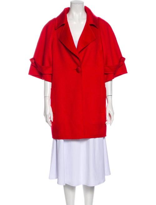 Bill Blass Coat Red