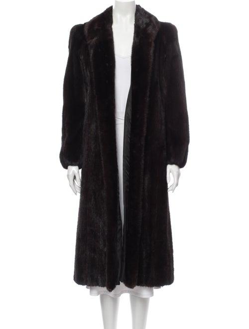 Bill Blass Fur Coat Brown