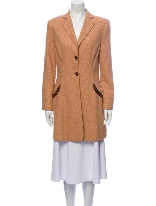 Bill Blass Coat Orange