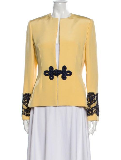 Bill Blass Evening Jacket Yellow