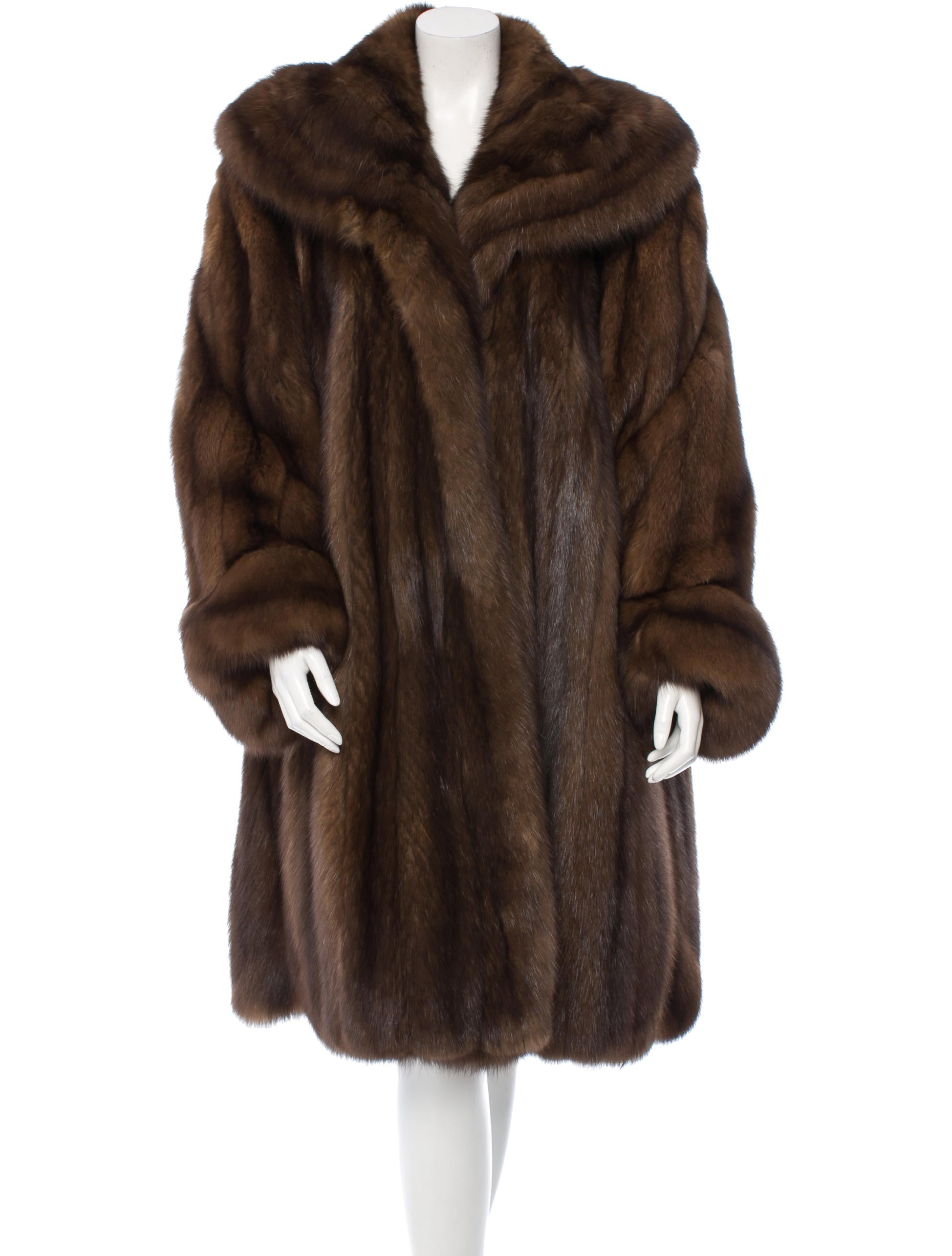Birger Christensen Sable Fur Coat - Clothing - BIRRH20004 | The ... for Sable Fur Cape  111bof