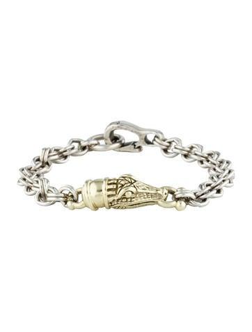 Alligator Link Bracelet