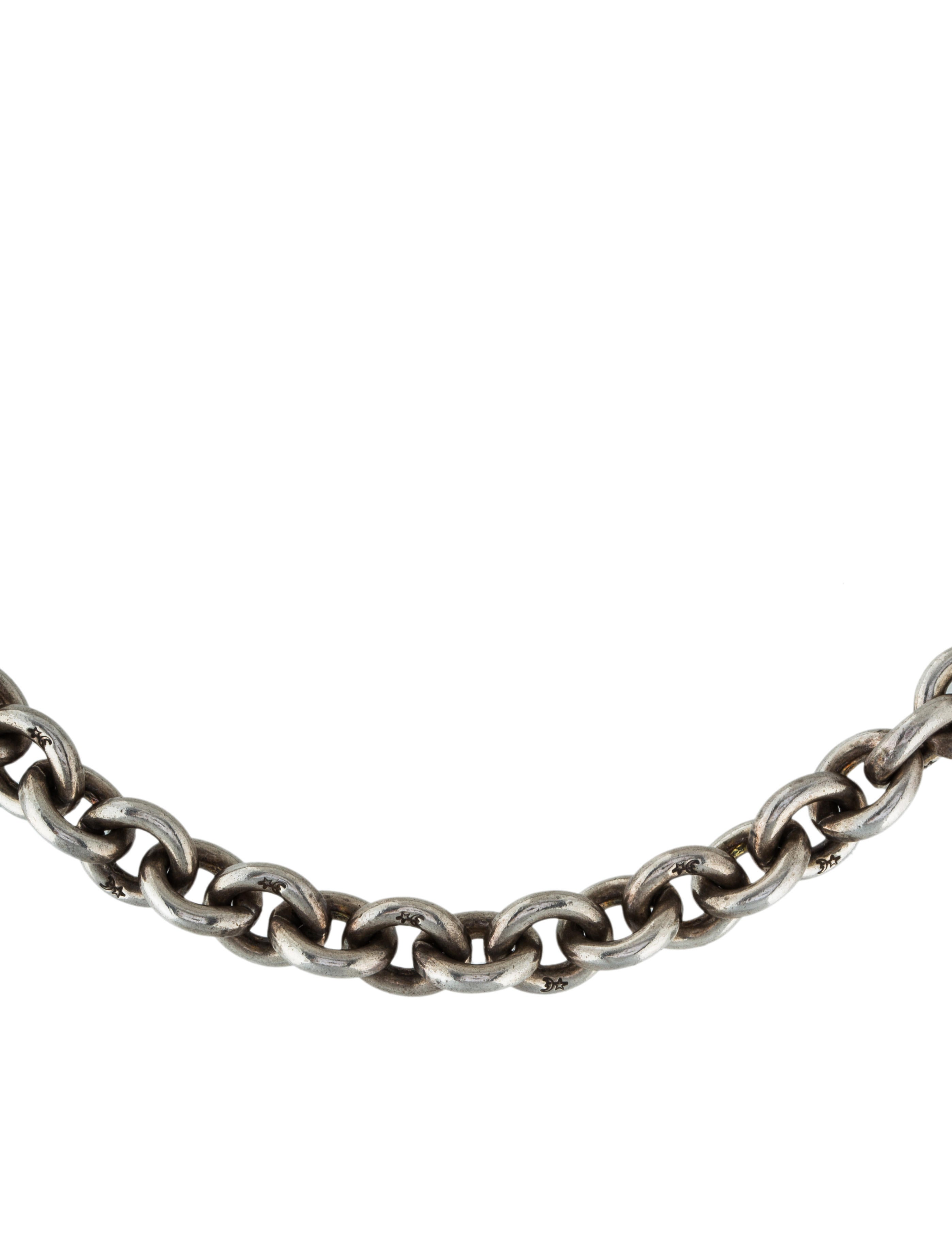 Barry kieselstein cord rolo chain necklace necklaces for Barry kieselstein cord jewelry