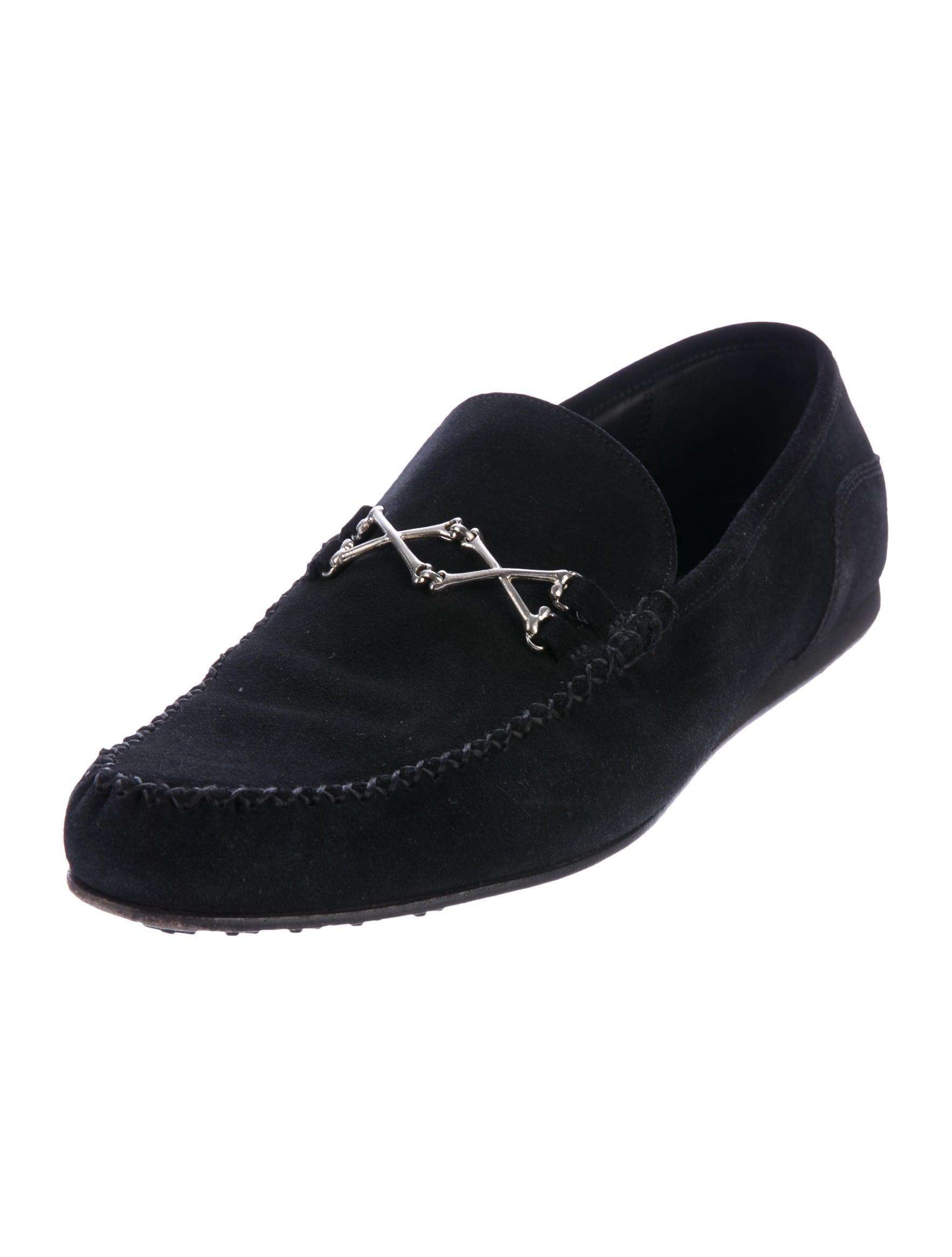 Barker Black Suede Shoes