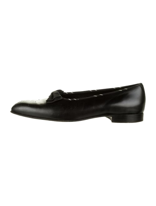 Barker Black Leather Dress Loafers black