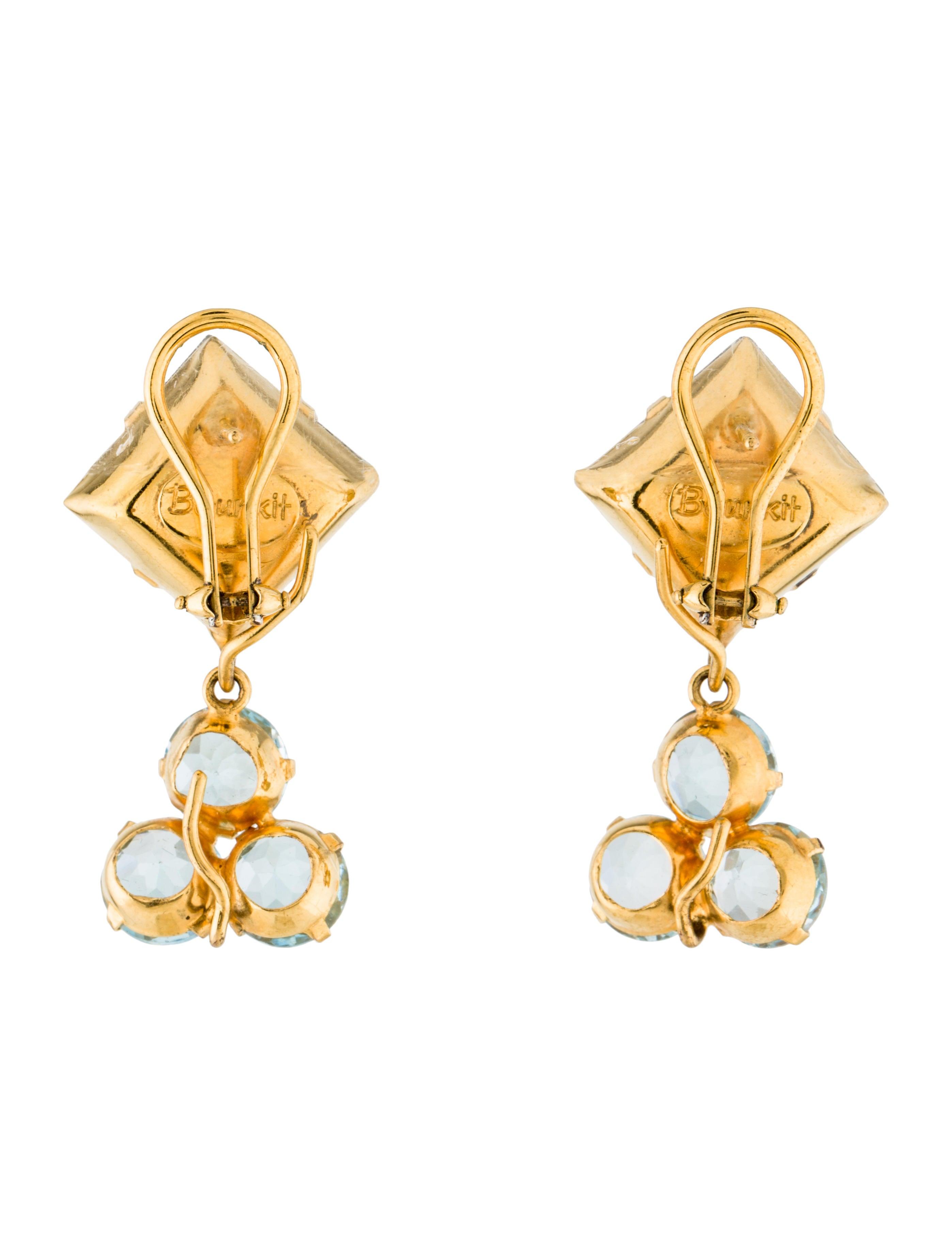 bounkit labradorite blue topaz earrings earrings. Black Bedroom Furniture Sets. Home Design Ideas