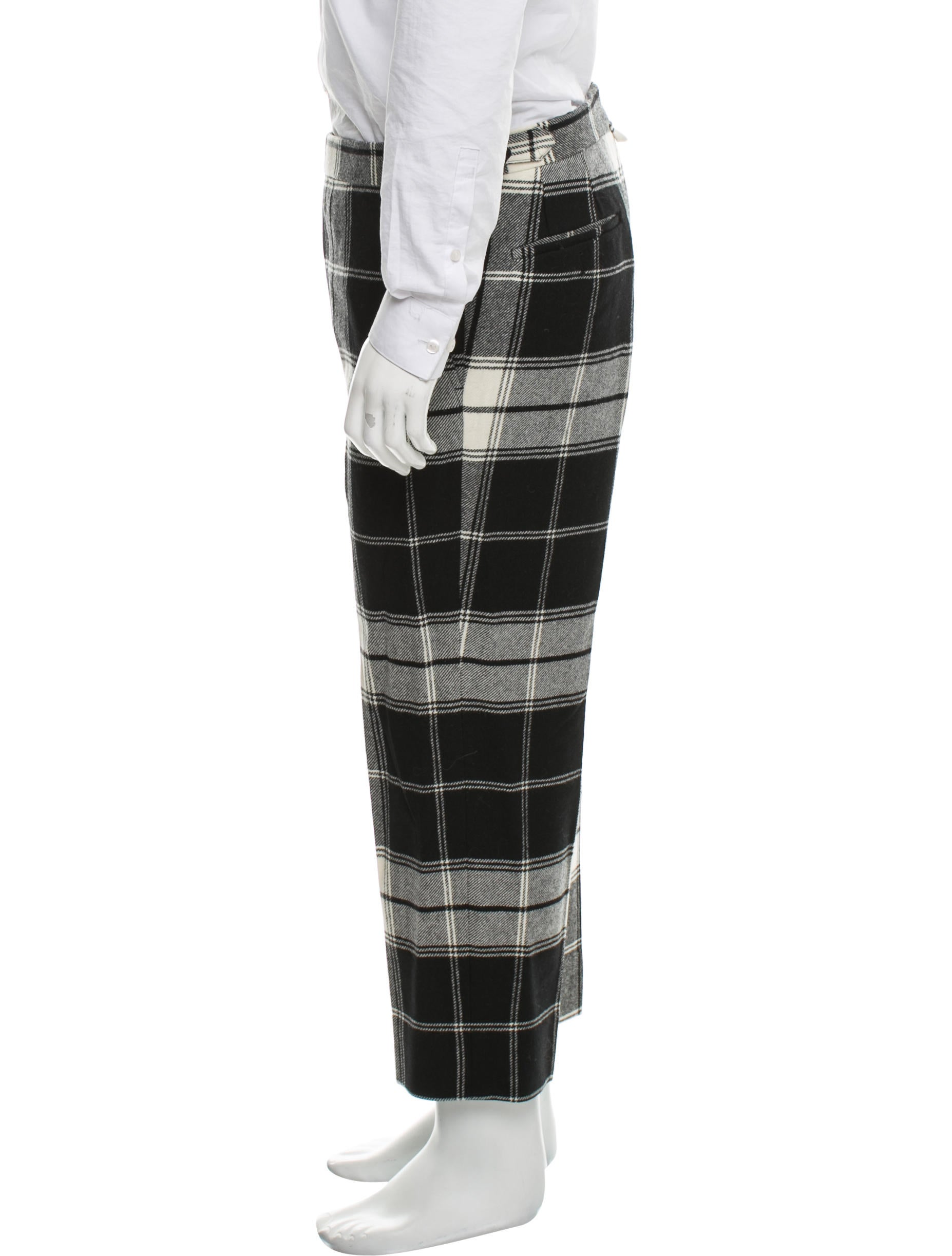 Find black plaid pants from a vast selection of Pants for Men. Get great deals on eBay!