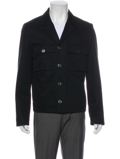 Black Fleece Jacket Black