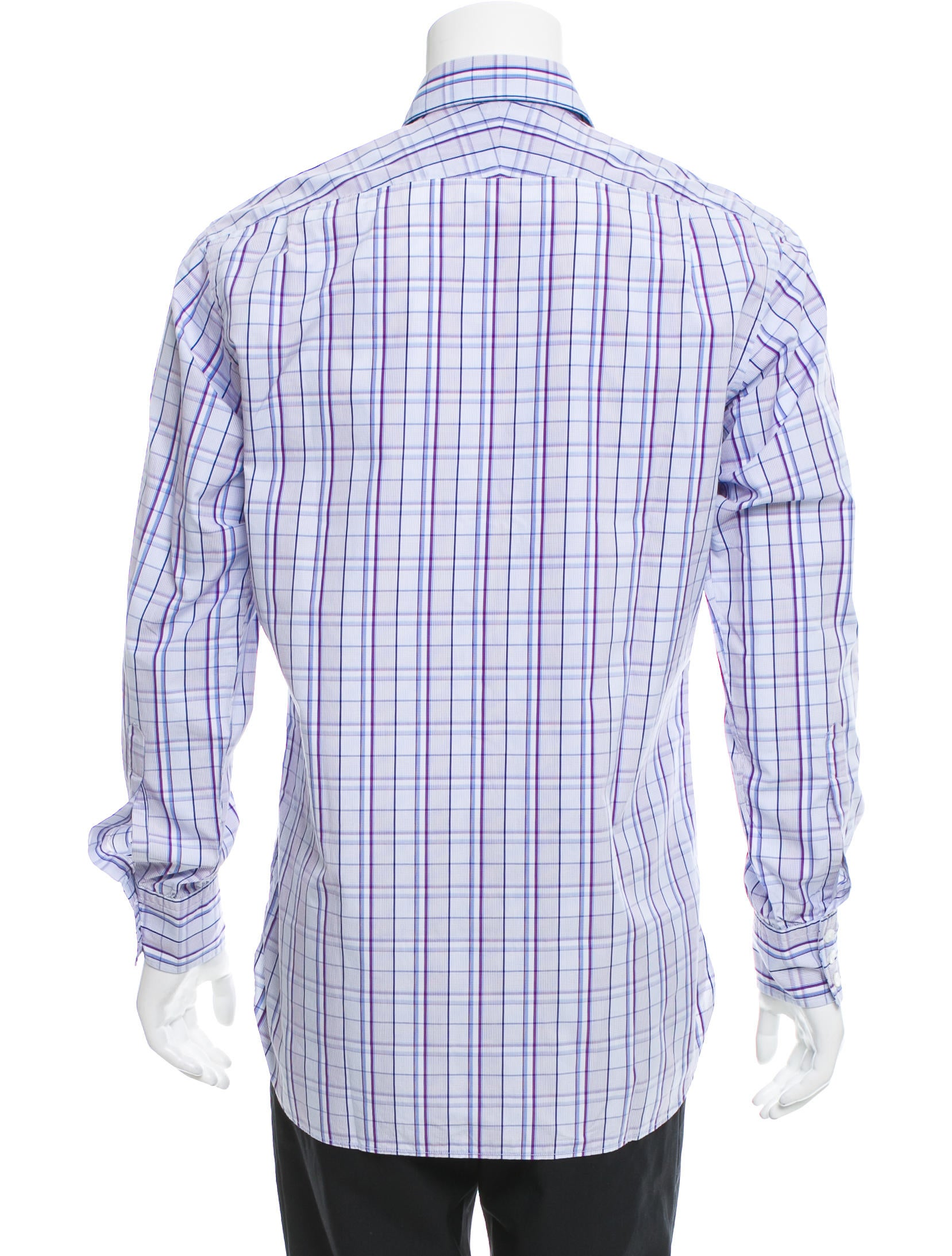 Turnbull Asser Plaid Button Up Shirt Clothing