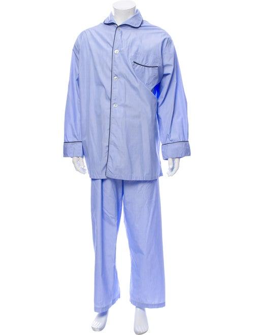 Turnbull & Asser Pajama Set Blue