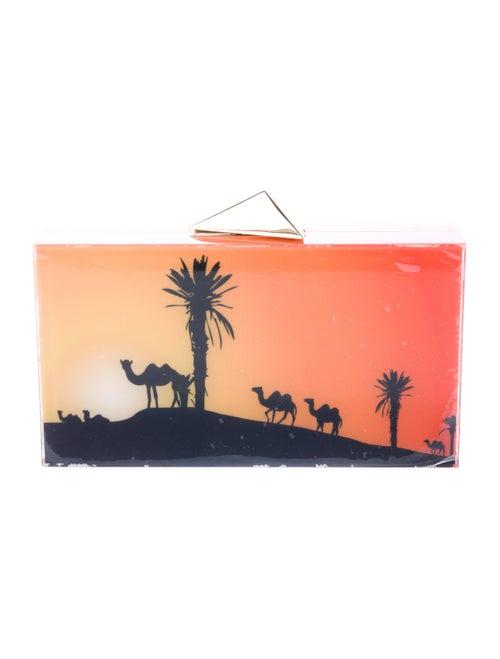Blacksea Morocco Box Clutch Orange