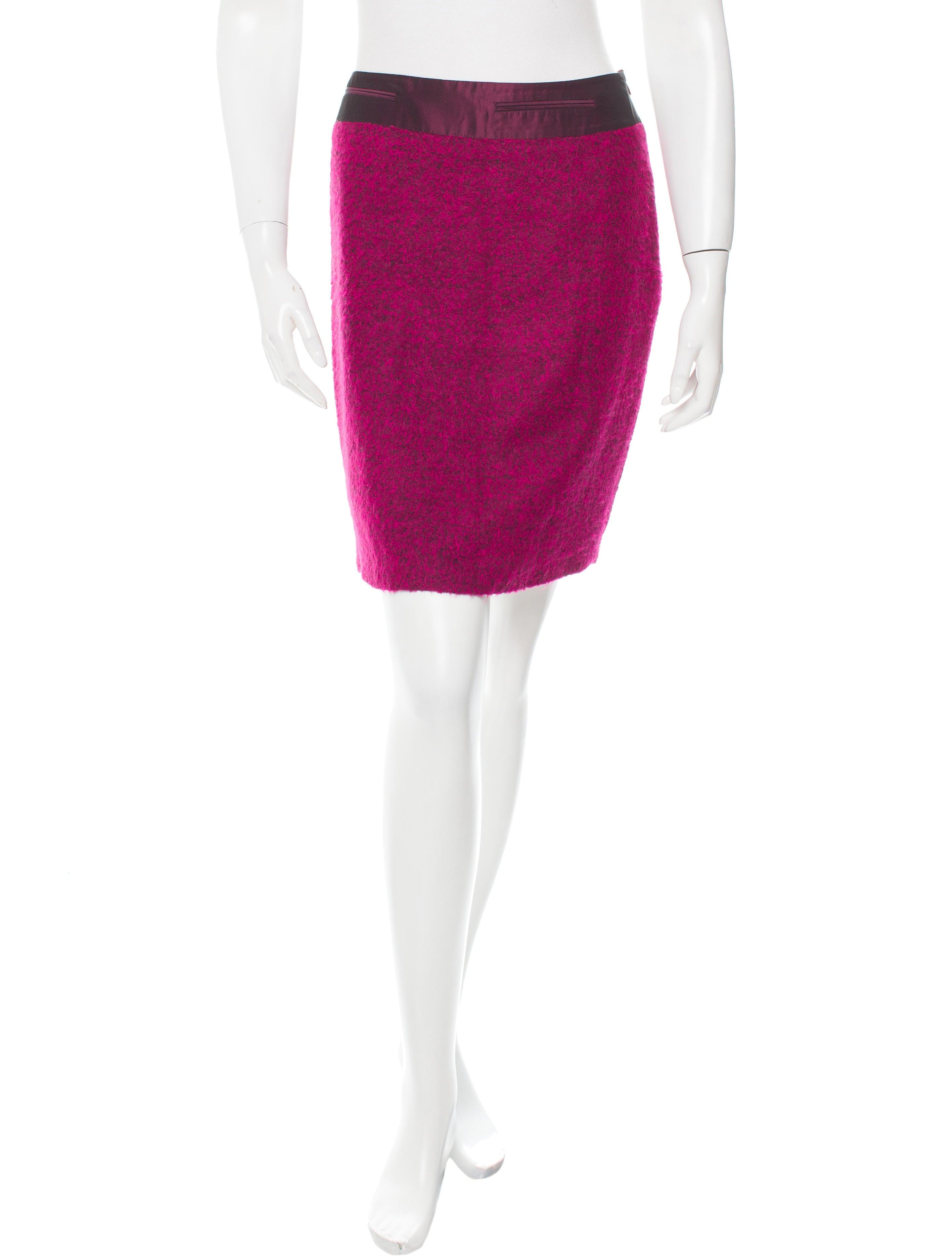 blumarine pencil mini skirt clothing blu25192 the