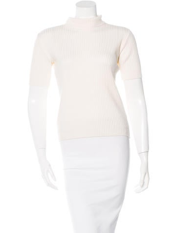 Blumarine Wool Turtleneck Top None
