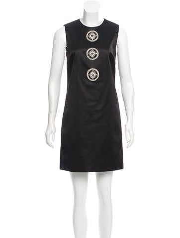 Blumarine Embellished Sleeveless Dress w/ Tags None