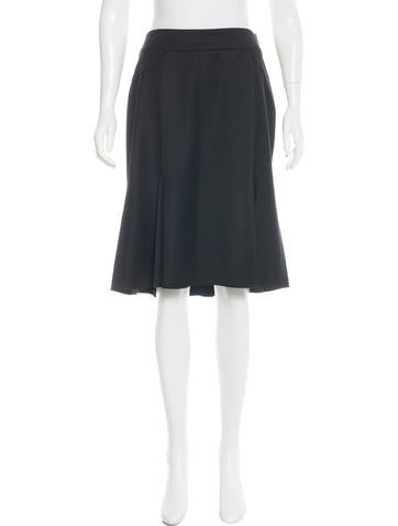 Blumarine Wool Knee-Length Skirt
