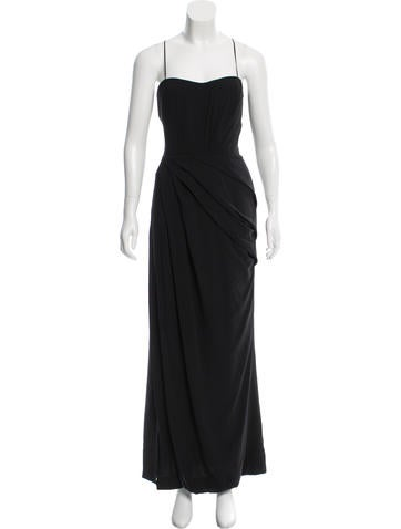 Blumarine Silk Evening Dress None