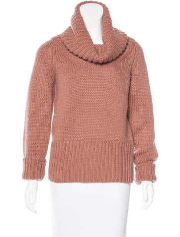Blumarine Cashmere Turtleneck Sweater None