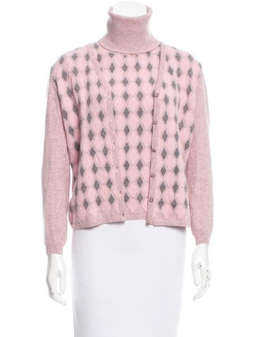 Blumarine Wool Cardigan Set None