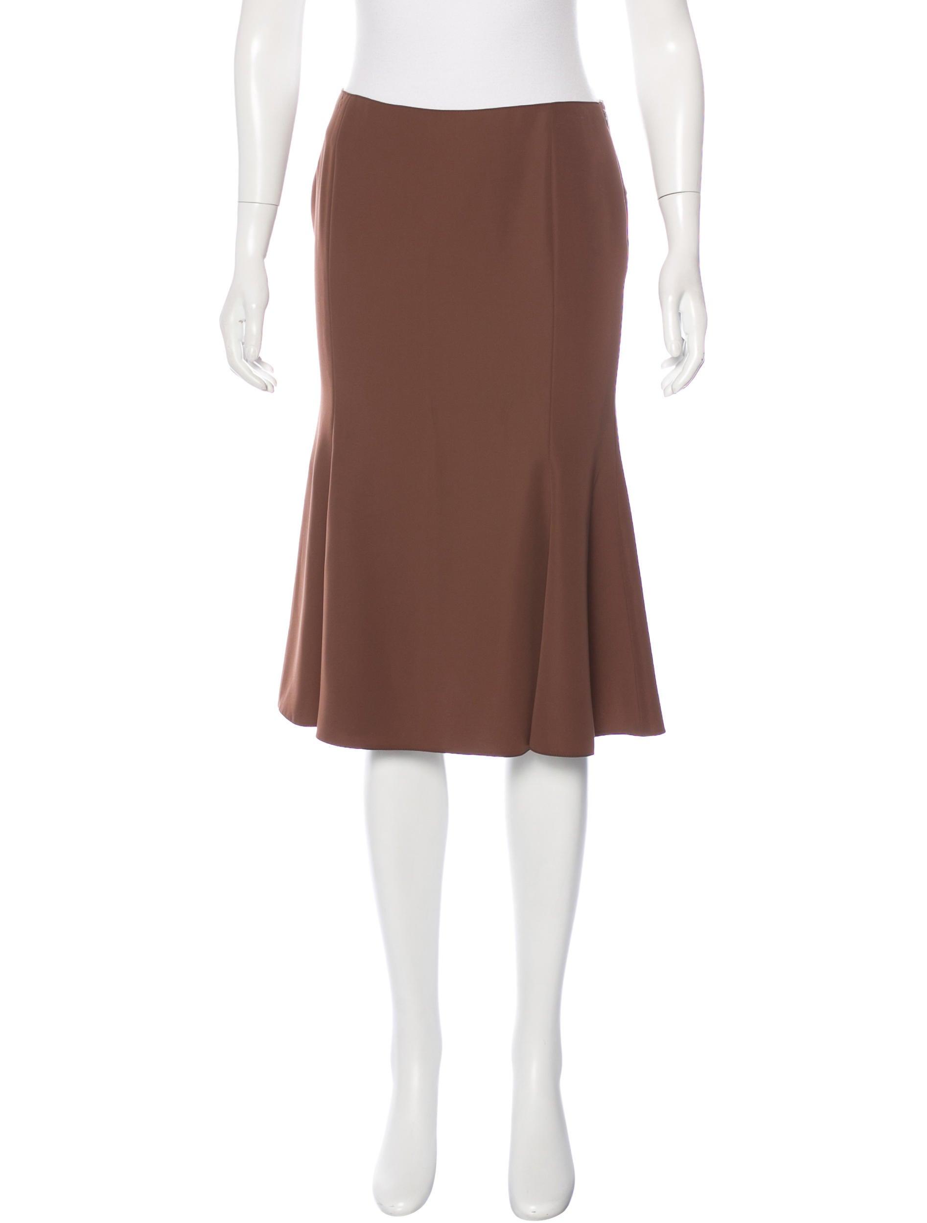 blumarine knee length a line skirt bottoms blu26481