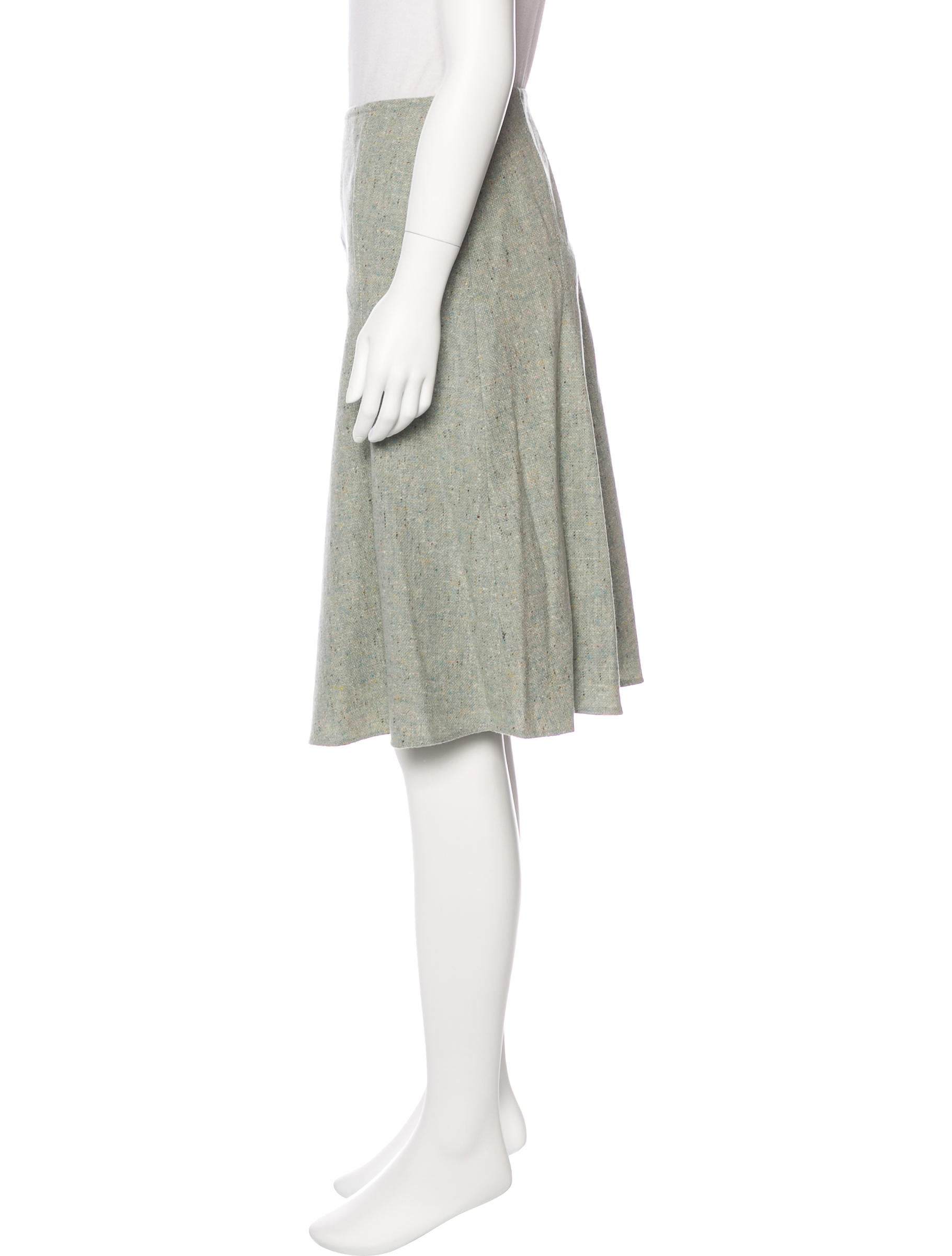 blumarine wool a line skirt clothing blu26844 the
