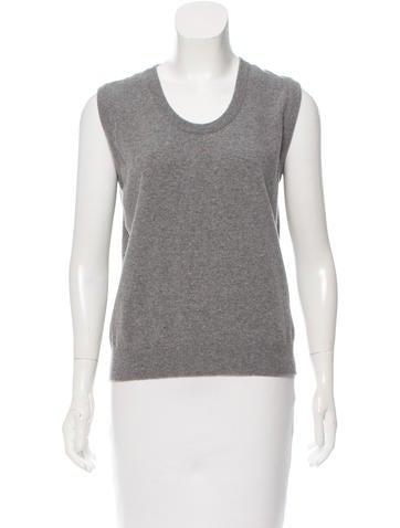 Blumarine Wool Sleeveless Sweater None