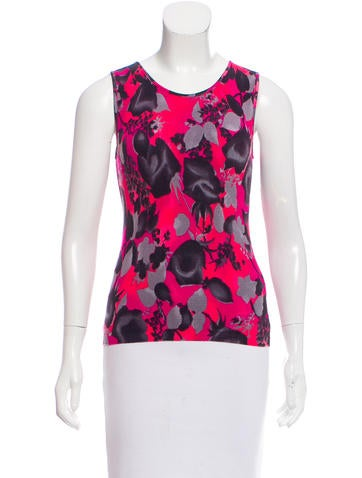 Blumarine Sleeveless Knit Top None