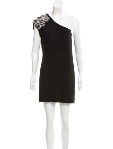 Blumarine Embellished Mini Dress None