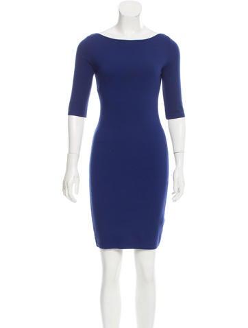 Blumarine Knit Sheath Dress None