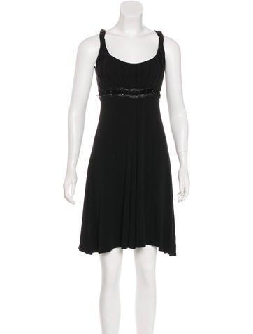 Blumarine Embellished Knit Dress None