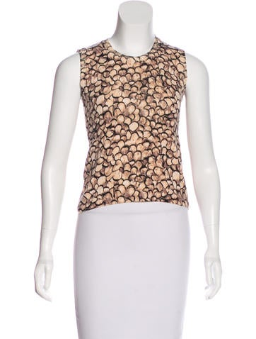 Blumarine Printed Knit Top None