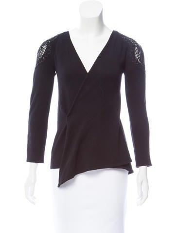 Blumarine Embellished Knit Cardigan None