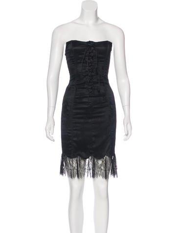 Blumarine Lace Mini Dress None