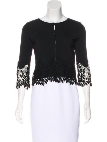 Blumarine Embroidered  Knit Top None