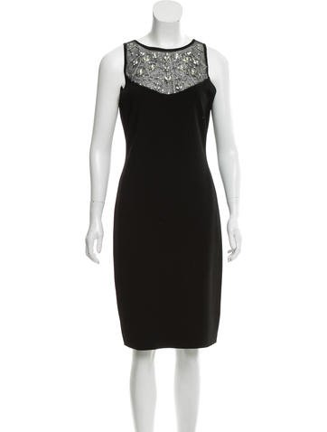 Blumarine Embellished Knit Dress None