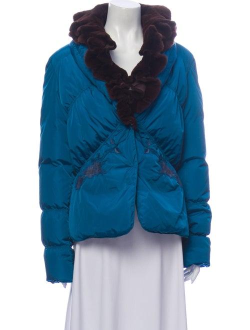 Blumarine Coat Blue