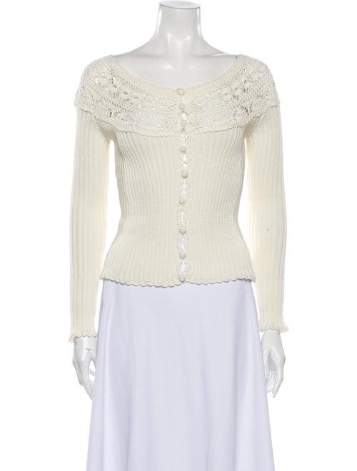 Blumarine Scoop Neck Sweater