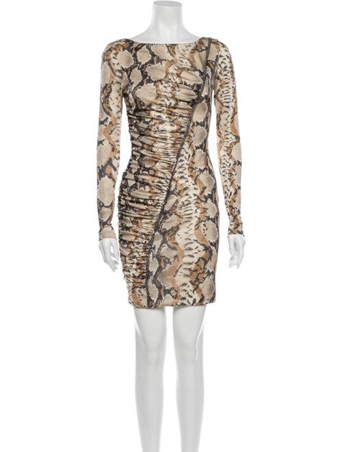 Blumarine Silk Mini Dress w/ Tags