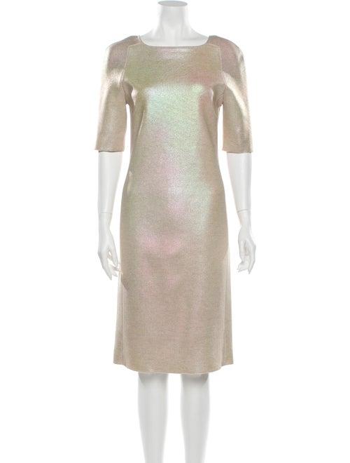 Blumarine Wool Knee-Length Dress Wool