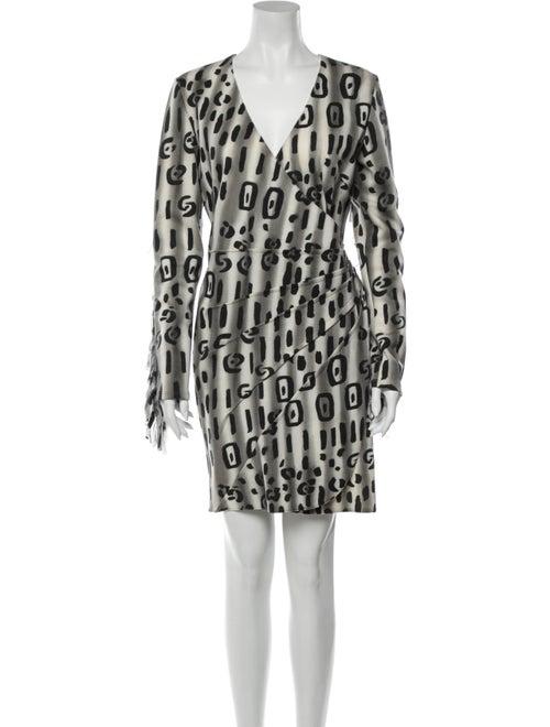 Blumarine Wool Mini Dress Wool