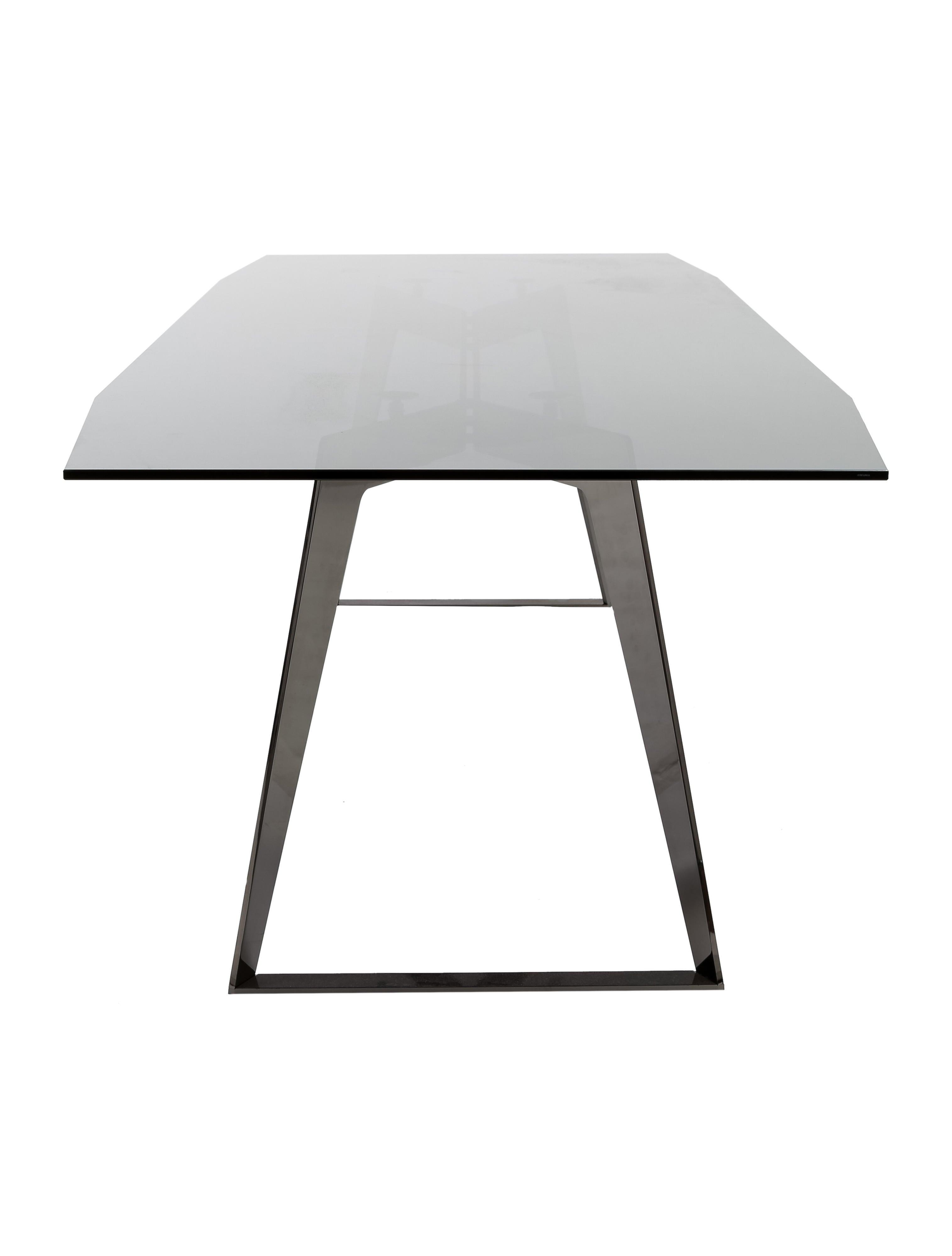 Roche Bobois Glass Dining Table Furniture BOB