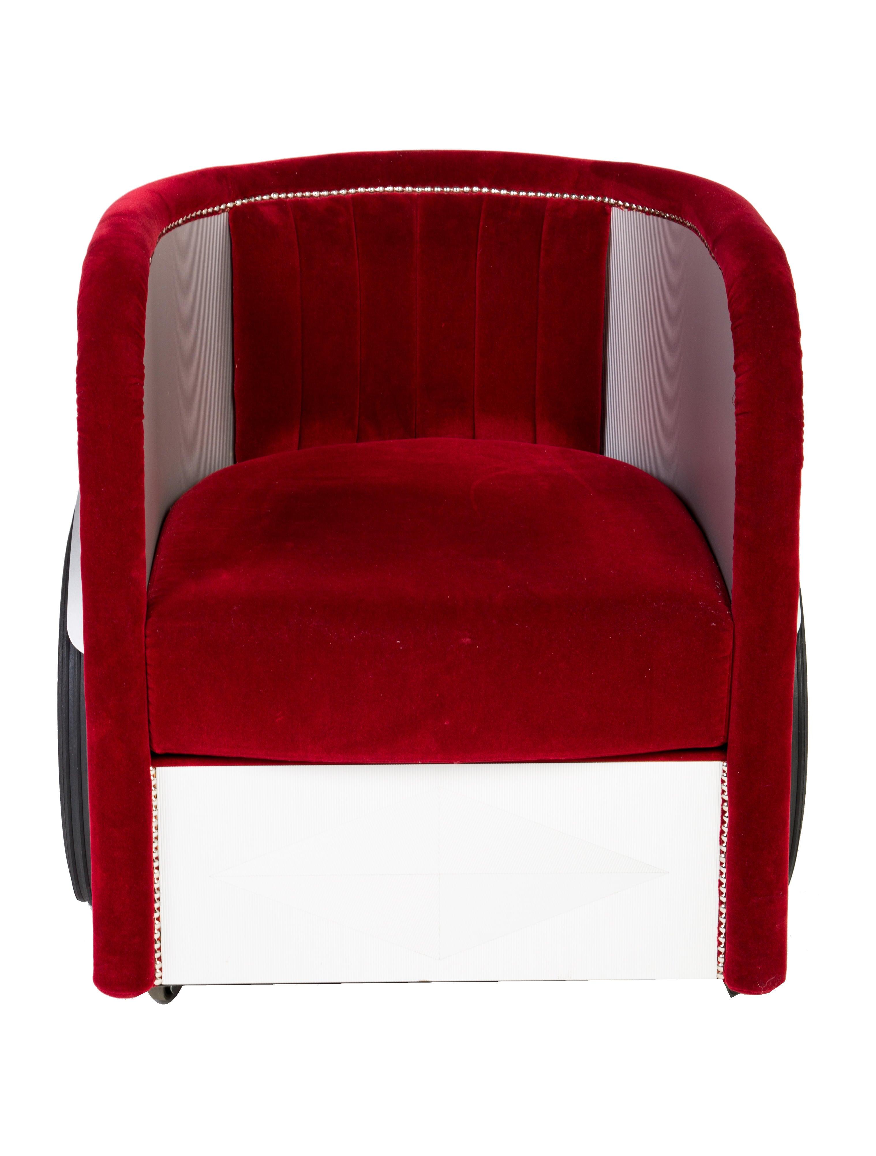 Roche Bobois Ben Hur Armchair - Furniture - BOB20035