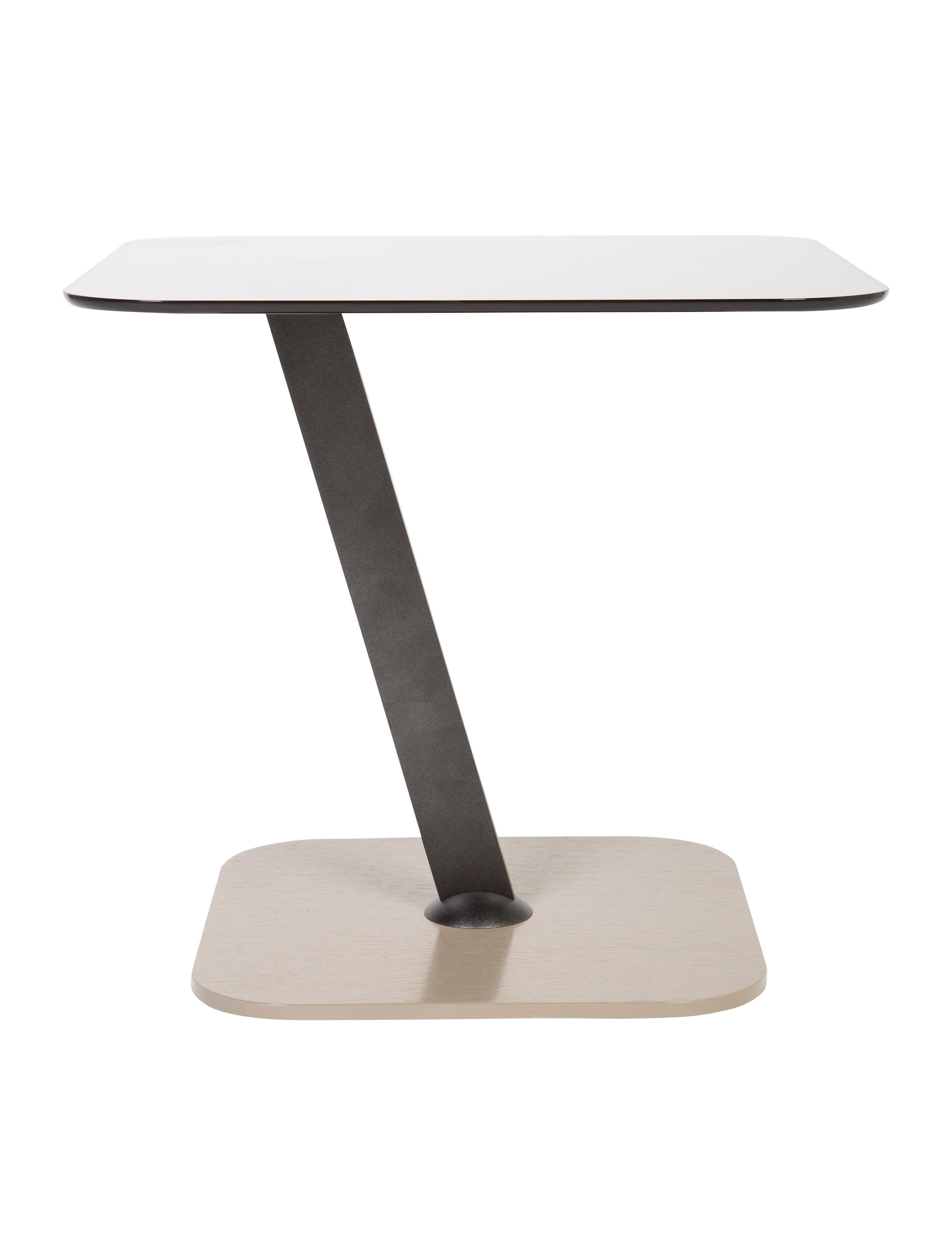 Roche Bobois Glass Pedestal Table