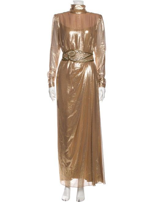 Bob Mackie Vintage Long Dress Gold