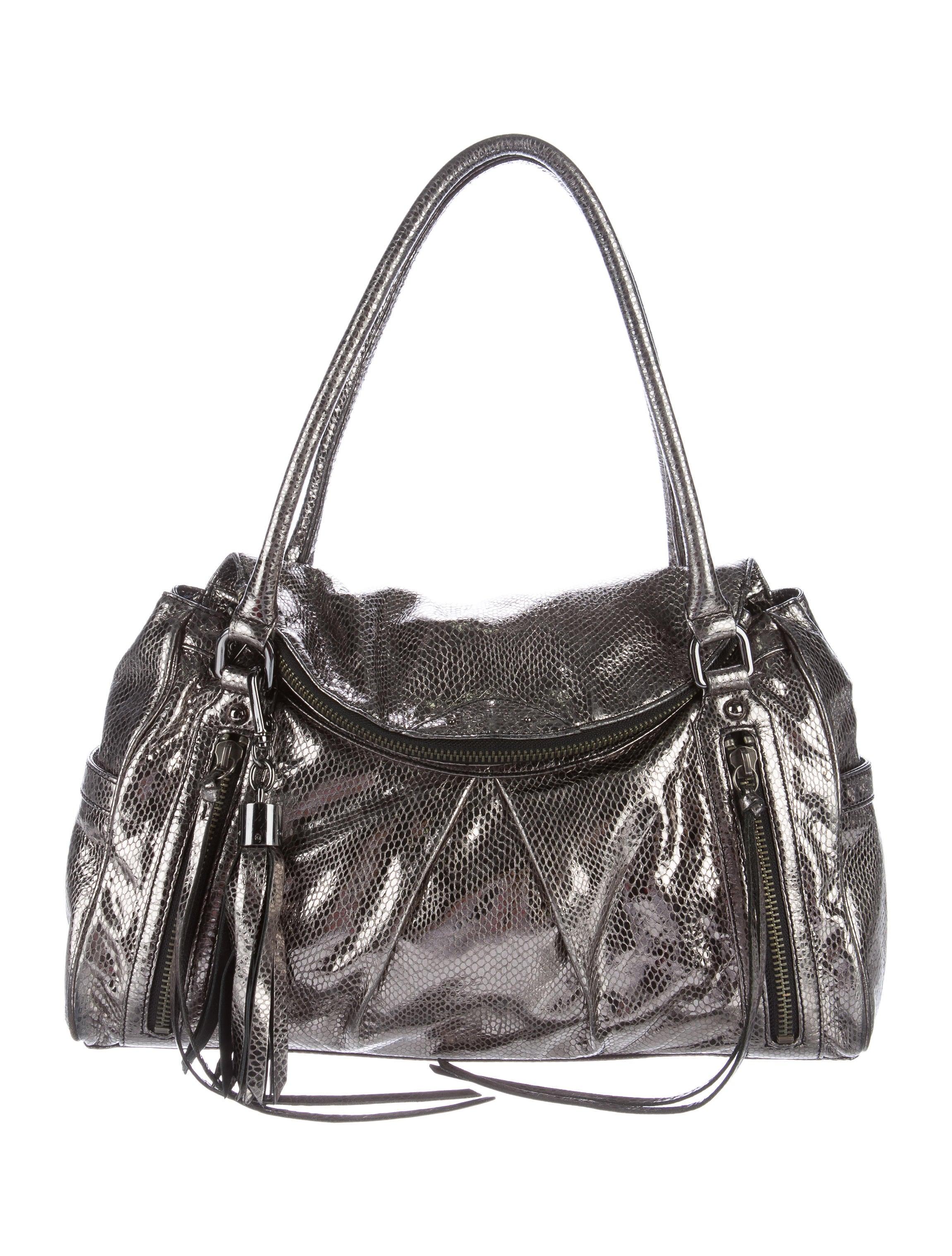 Botkier Metallic Shoulder Bag - Handbags